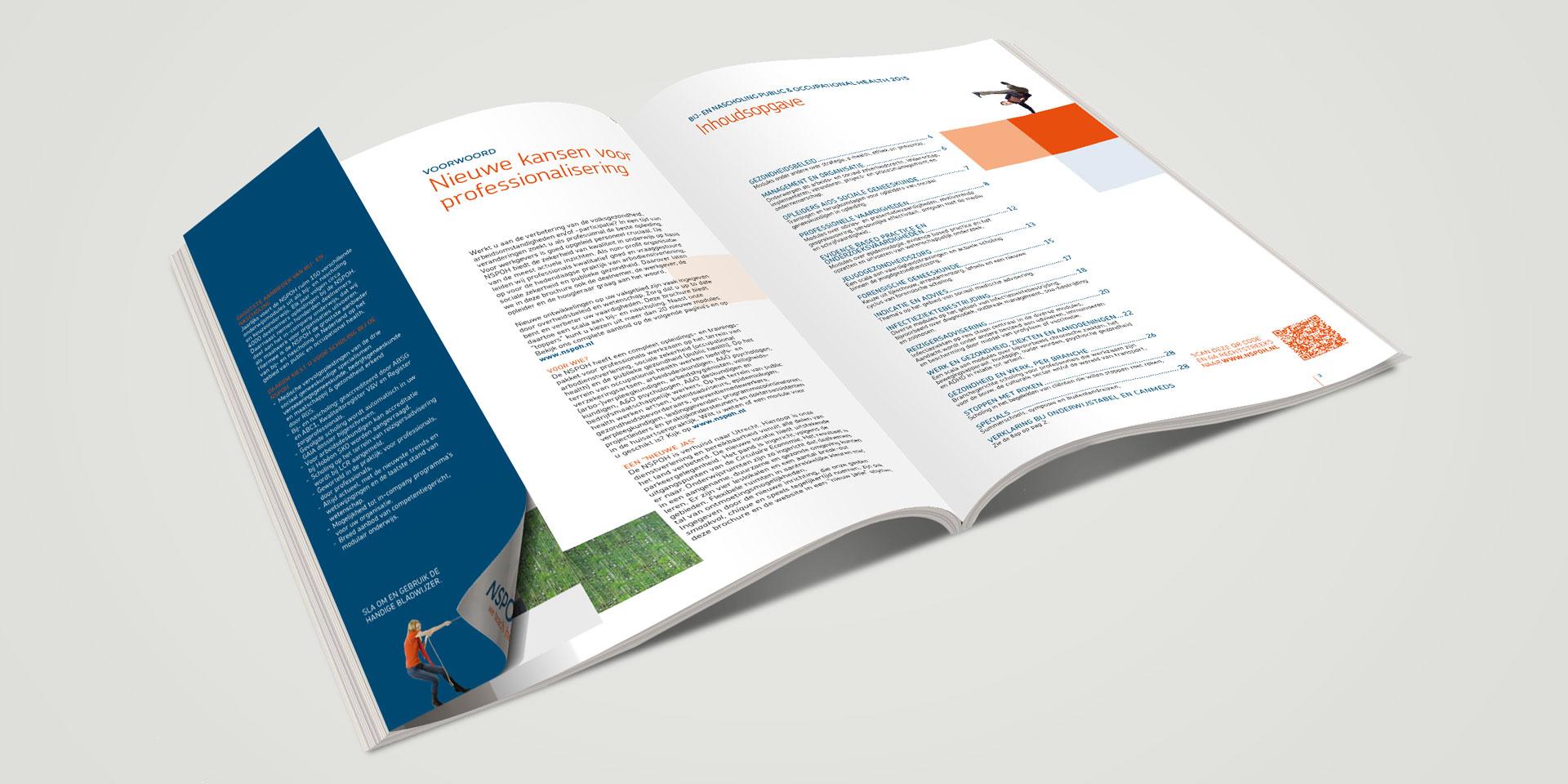 NSPOH identity brochure