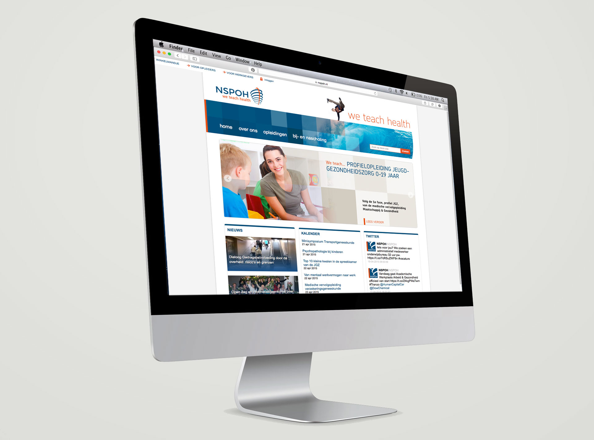 NSPOH identity website